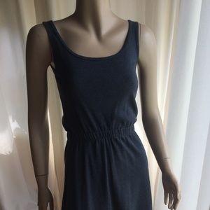 Am Apparel Grey Cotton Dress